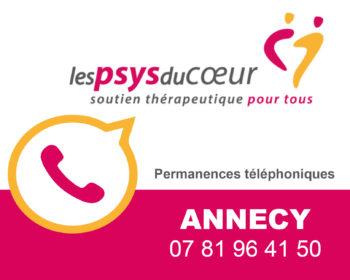 Permanence thérapeutique par téléphone - Annecy