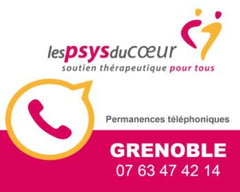 Permanence thérapeutique par téléphone - Grenoble