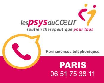Permanence thérapeutique par téléphone - Paris