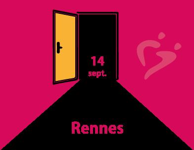 Réouverture de l'antenne de Rennes le 14 septembre