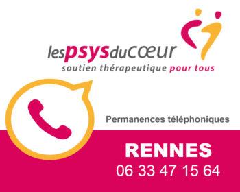 Permanence thérapeutique par téléphone - Rennes
