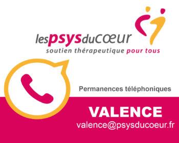 Permanence thérapeutique par téléphone - Valence